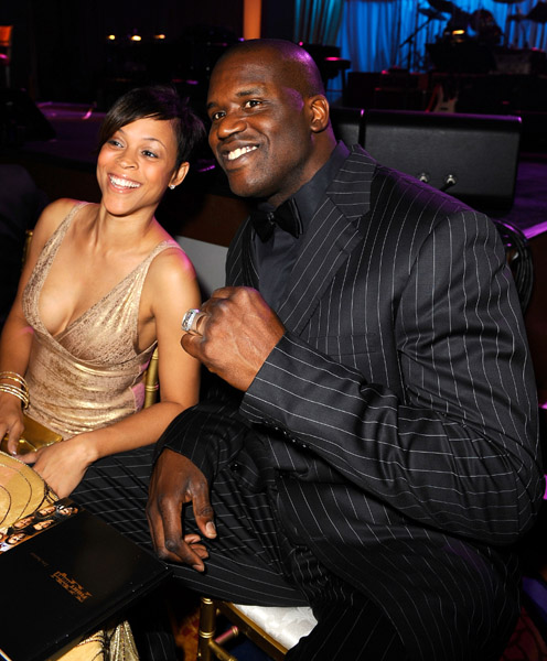 shaquille neal gets divorced and dating